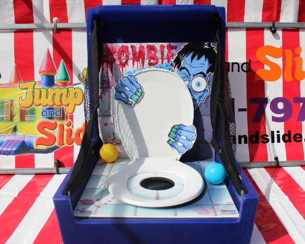 Zombie Potty Toss #CG57 (Carnival Games)