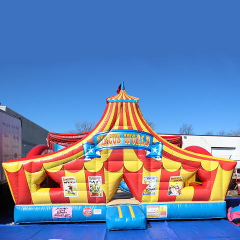Circus World #CU6 (Carnival Games)