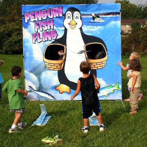 Penguin Fish Fling #G7 (Carnival Games)