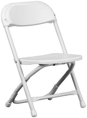KIDS SMALL WHITE CHAIRS