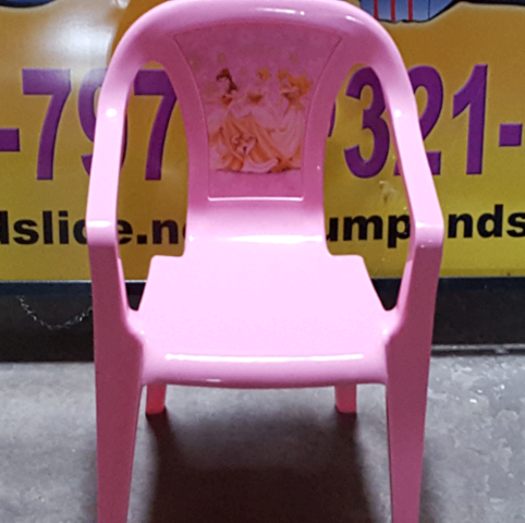 Pink PRINCESS Kids Chairs (PT)