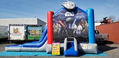 (40)  STAR WARS WATER SLIDE AND BOUNCER #WS42