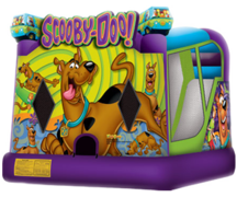 (17)  SCOOBY DOOBY DOO BOUNCER AND SLIDE #CU28