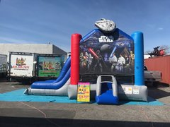 ALL NEW STAR WARS BOUNCER WITH DRY SLIDE
