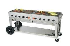 BBQ 6 FOOT GAS GRILL (TC)
