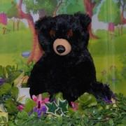 BLACK STUFFING BEAR