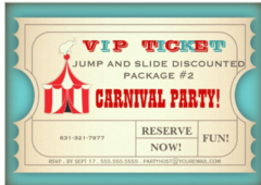 CARNIVAL PARTY PACKAGE #2