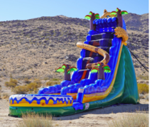 All New 2021 Cougar Waterslide with pool very fast!