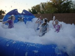 FOAM PARTY PIT BLUE WAVE #IG44