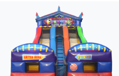 All NEW 2021 Giant Circus Funhouse WATER Slide
