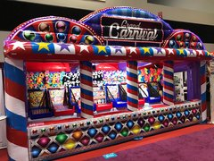 Colorful GRAND CARNIVAL INFLATABLE GAMES #IG44