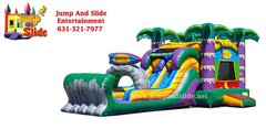 (4) NEW MAUI BOUNCER WITH 2 SLIDES (DRY UNIT)#CU32