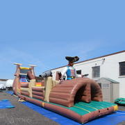 74ft Pirate Obstacle Course #OC7
