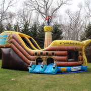 Brown Pirate Ship FOR SALE PRICE $2,400