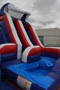 CURVY Used Waterslides for sale  WITH POOL $1,950