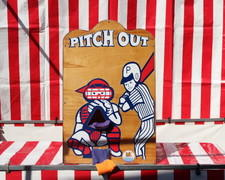 Pitch Out # CG9 (Carnival Games)