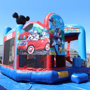 Mickey waterslide and bouncer combo FOR SALE PRICE $2,400