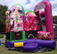 Tinker Bell water slide and bounce combo FOR SALE PRICE $2,400