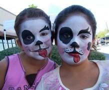 Face painting by Kayla