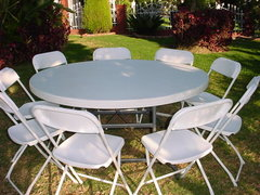 Tables And CHAIRS? Look in our tables and chairs category