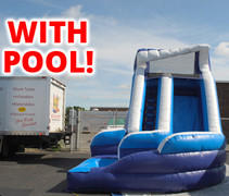 (28)  ON SALE....Curvy Water Slide #WS1