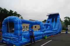 (6)  Double Tsunami Water slide #WS22