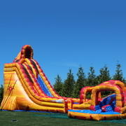 Lava Twist Water slide