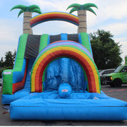 Rainbow Double Tunnel Slide (for sale)