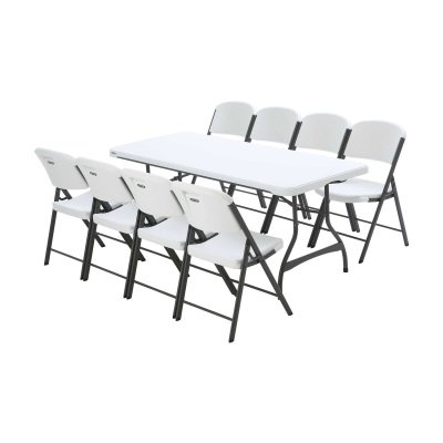 1 Table & 8 Chairs