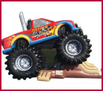 Monster Truck Combo Rental