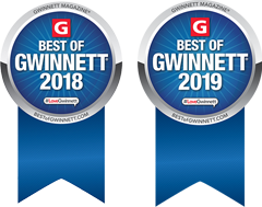 Best of Gwinnett Ribbon