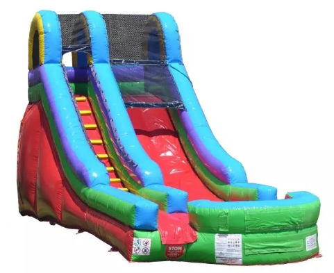18 ft high celebration slide rental in Atlanta