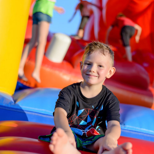 Suwanee Inflatable Obstacle Course rentals