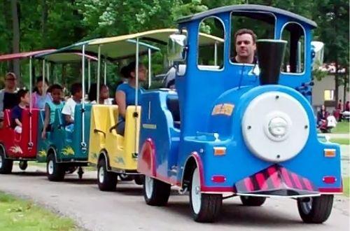 Jumptastic's Express Trackless Train