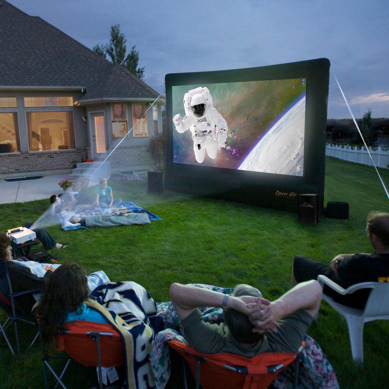 outdoor movie screen rentals in Suwanee