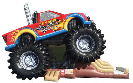 monster truck combo