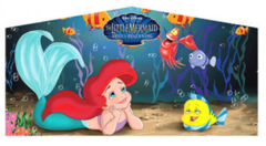 little mermaid theme