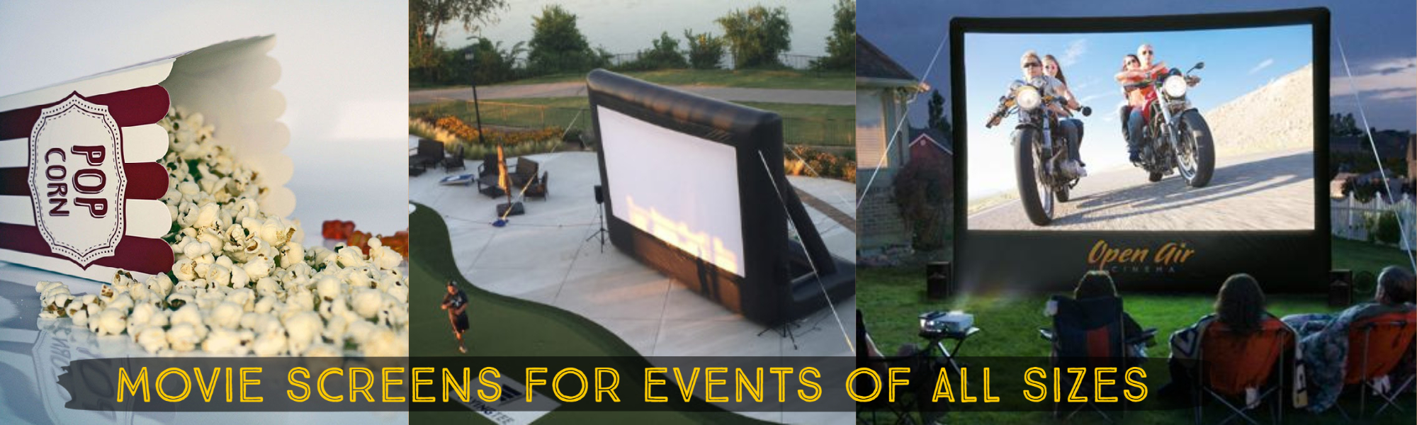 movie screen rentals