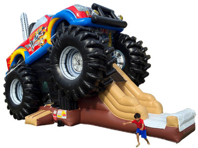 monster truck combo rental