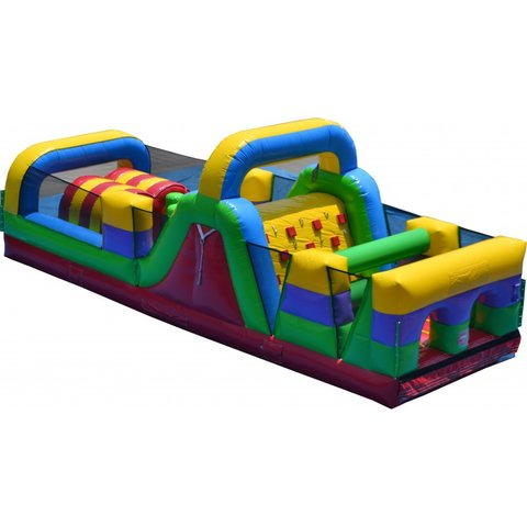 31' Dynamite I Obstacle Course with Slide (OD31002)