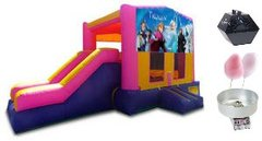 Princess Theme Jump and Slide Party Package