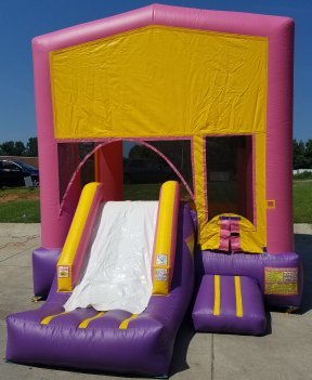 Pink Playtime Jump and Front Slide - Medium (CD131601-P)