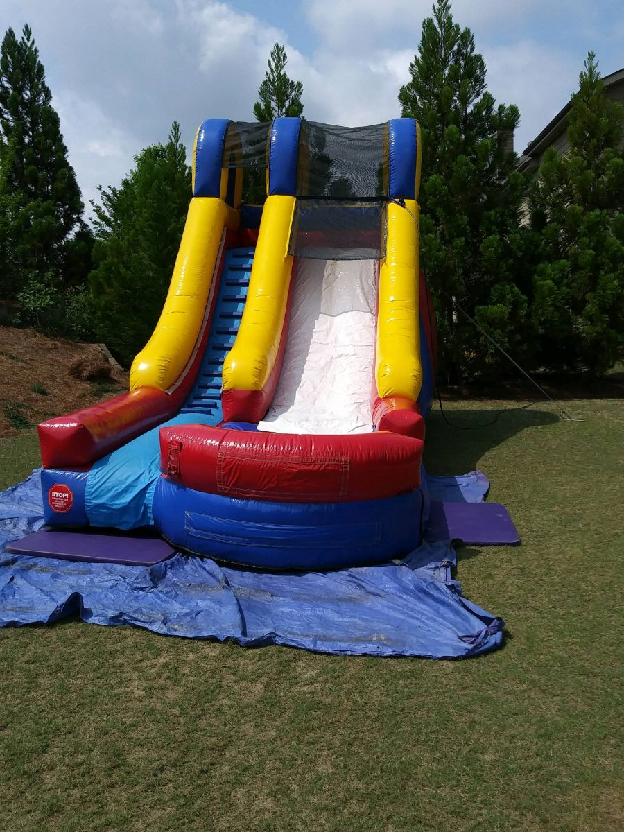 15' high time to party slide