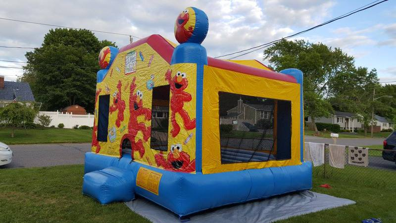 elmos world bounce house