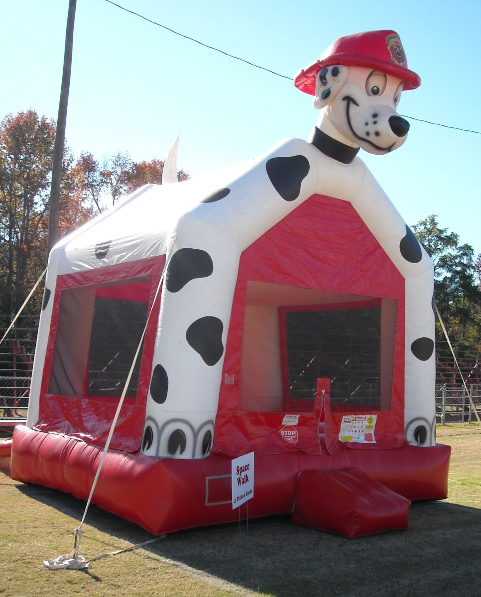 Firemans best friend bounce house