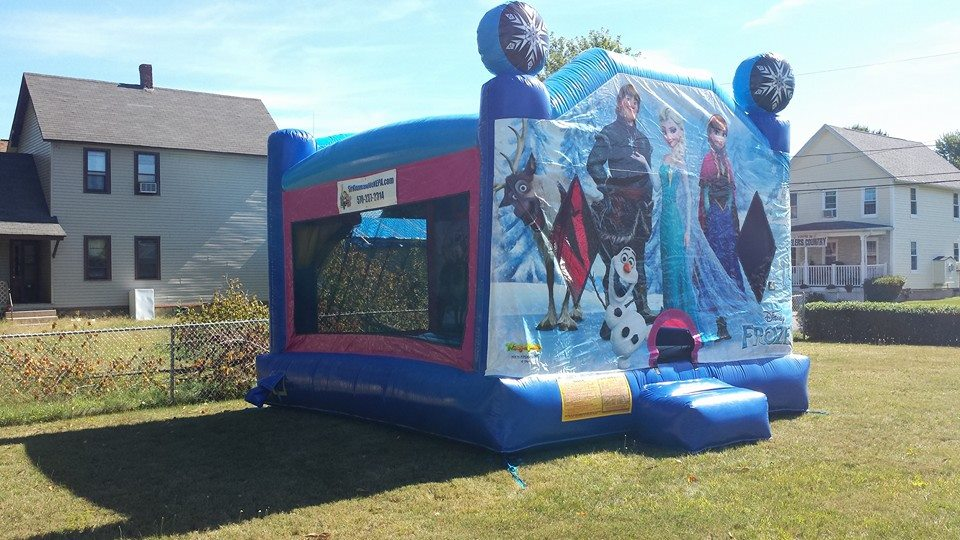 frozen movie bounce house
