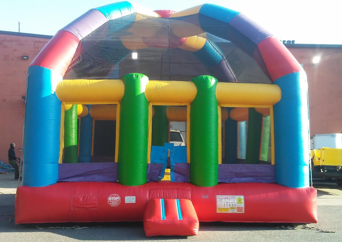 huge dome bounce house