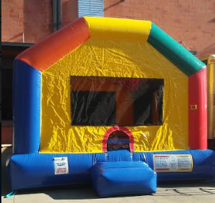 supersized bounce house