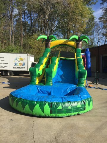 14' High Paradise Front Entry Water Slide (JSWS4)