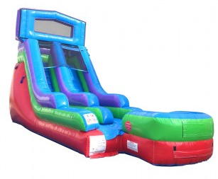 15' High Celebration Themed Water Slide (SWD15180621)